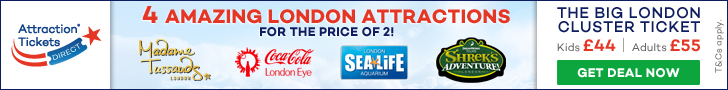 Attraction Tickets Direct Banner